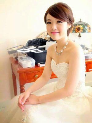 嘉義新秘YUMI新娘造型6